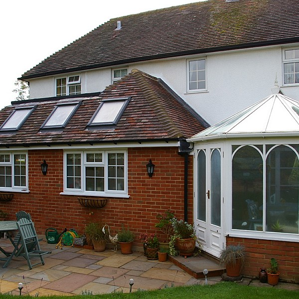 New Rear Kitchen Breakfast Room Extension and Patio